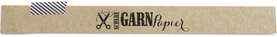 Schere, Garn, Papier