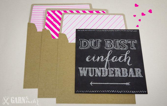 GARN_MEHR_Valentine_tafelbild_chalkboard_umschlag_kraft_envelope_neon