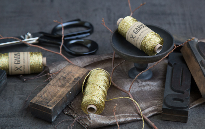 Garn in Gold - bakers twine gold | GARN & MEHR