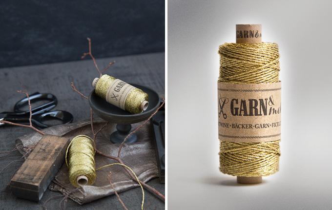 Garn in Gold - bakers twine gold |GARN & MEHR