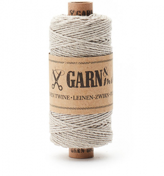 linen twine, natural