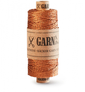 bakers twine, copper single-colour (new)