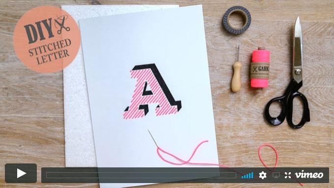 Typestitch - Stickbuchstaben | GARN & MEHR