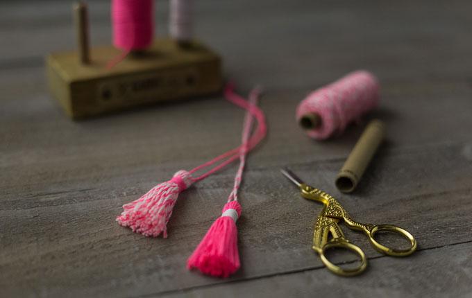 Yarn tassel - Garnquasten   GARN & MEHR